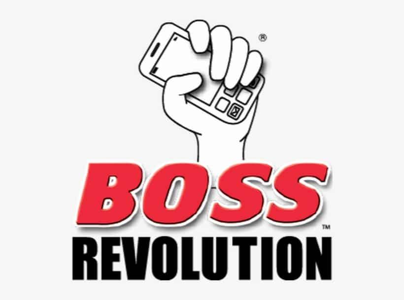 """Logo for """"Boss Revolution"""""""